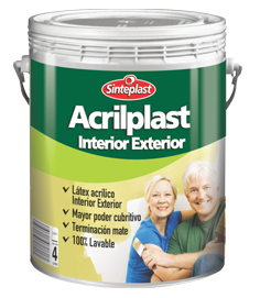 ACRILPL.INT/EXT BLANCO 4 LT