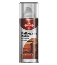 BARNIZ EN AEROSOL BRILLOSPRAY BRILLANTE