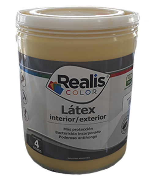 REALIS LATEX COLOR INT/EXT AMARILLO