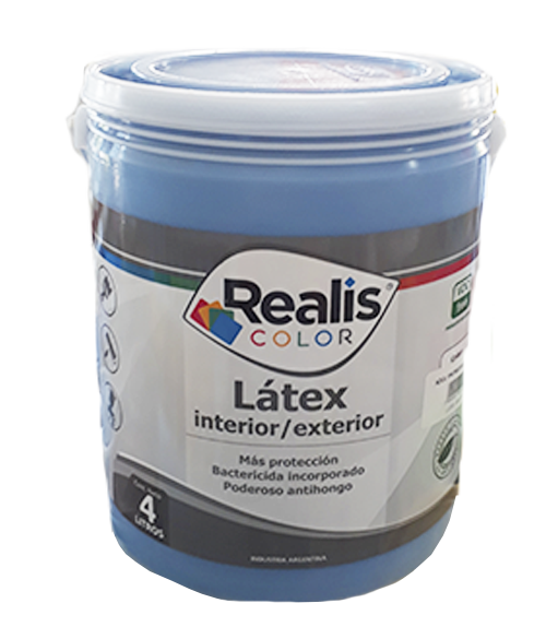 REALIS LATEX COLOR INT/EXT AZUL