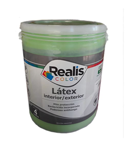 REALIS LATEX COLOR INT/EXT MANZANA