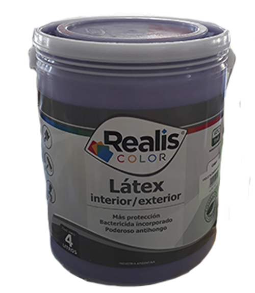 REALIS LATEX INT/EXT VIOLETA
