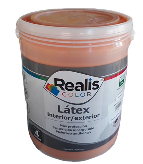 REALIS LATEX INT/EXT NARANJA