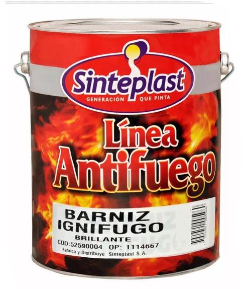 IGNIFUGO BARNIZ 4 LT SINTEP